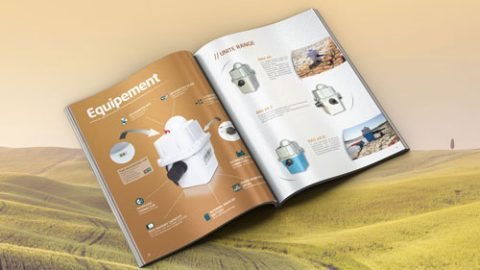 Graphiste freelance Vendée communication visuelle brochure