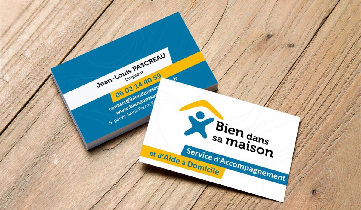 Agence communication Les Herbiers logo flyer carte